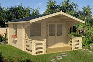 Gartenhaus 3 X 3 M : gartenhaus 380x380cm mit terrasse boden peppe blumenkasten ~ Whattoseeinmadrid.com Haus und Dekorationen