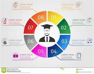 Education Infographics. Concept Students Learning. Stock ...
