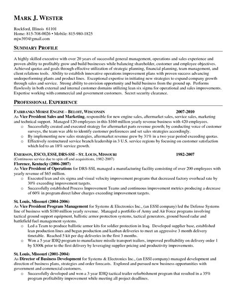 Sles Of Objectives General by Exles Of Resumes Sle Nursing Resume Top 10