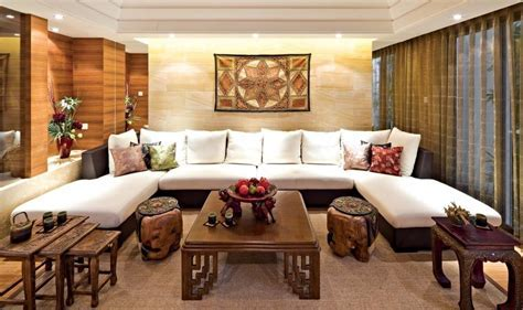 Ideal Concept Of Superb Asian Living Room With U Shape