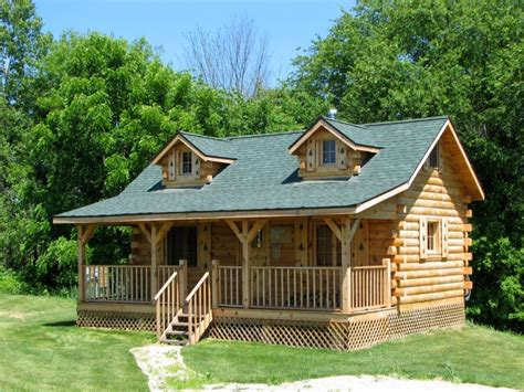 How To Build A Log Cabin Amish Built Cabins Amish Built Cabins West