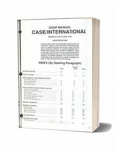 Case 5120 Shop Manual
