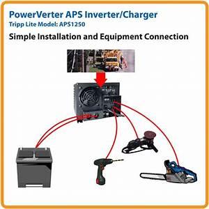 Amazon Com  Tripp Lite Aps1250 Inverter    Charger 1250w