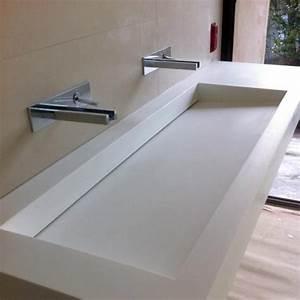 salle de bain cuisine bac de douche sur mesure solid With salle de bain integree