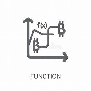 Function Icon  Trendy Flat Vector Function Icon On White