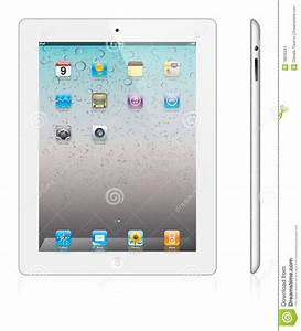 New Apple IPad 2 White Version Editorial Stock Image ...