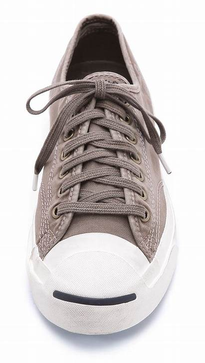 Converse Sneakers Canvas Jack Purcell Washed Gray