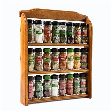 24 Spice Rack mccormick gourmet wood spice rack 24 assorted herbs