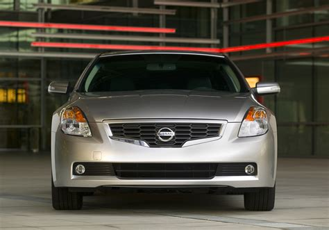 nissan altima coupe demands attention  aggressive
