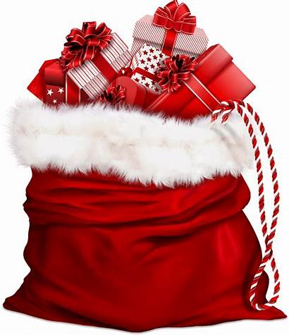 Santa Claus Bag Transparent Christmas Gifts Hat