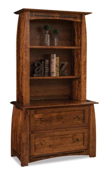 boulder creek lateral file cabinet  bookcase top