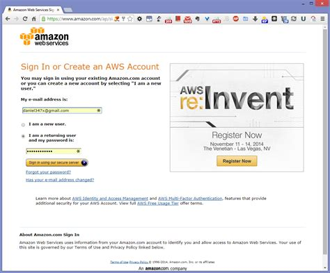 aws console login web services aws how to log into management