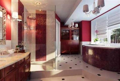 inspirasi desain interior kamar mandi mewah  warna