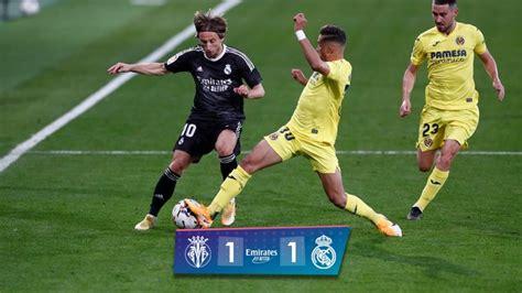 Villarreal y Real Madrid no se sacaron ventajas | Resumen ...