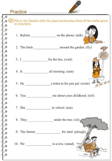 grade 3 grammar lesson 10 verbs the past continuous