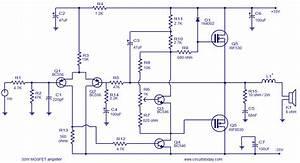 50 Watt Mosfet Amplifier