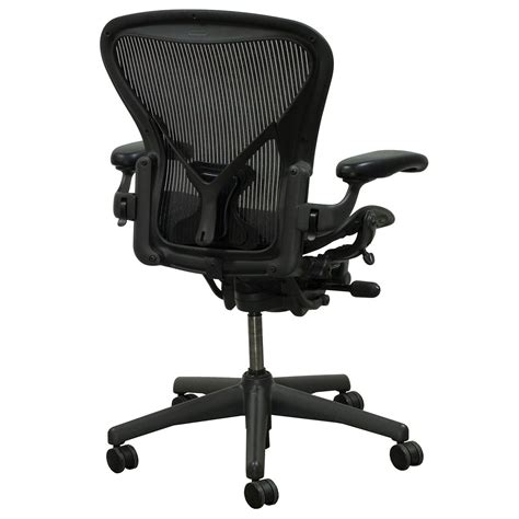 aeron chair size c used herman miller aeron posturefit used size c task chair