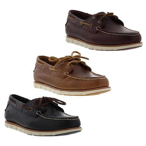 Timberland Boat Shoes Size by Timberland Tidelands Boat Shoes Mens Leather 2 Eye Deck