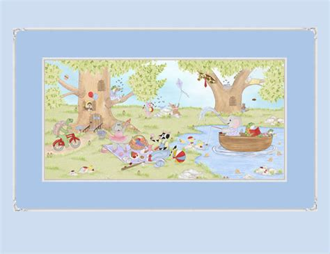 Whimsical Animal Wallpaper - frolic in the forest whimsical animal wallpaper