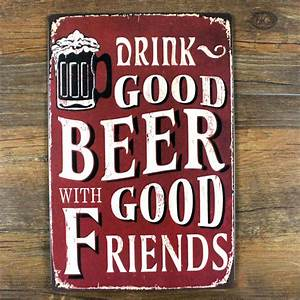 LKB-X-0218-NEW-2015-vintage-metal-tin-signs-Drink-good