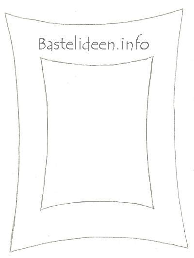 bastelideeninfo kostenlose bastelvorlage bilderrahmen