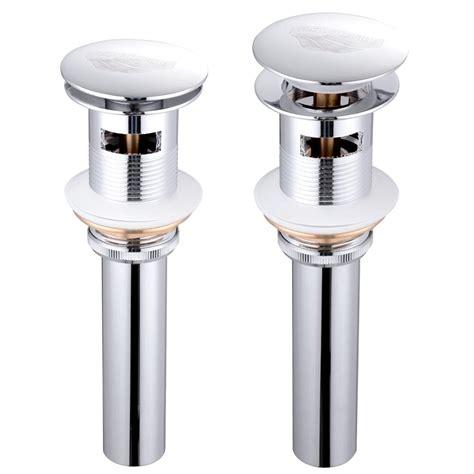 kitchen sink drain assembly 1 5 8 quot bathroom sink pop up drain assembly vessel faucet