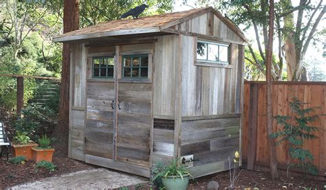 Shed From Recycled Materials by Green Building In San Francisco By Green Sheds Where