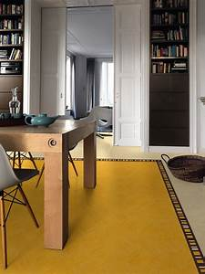 The Lino Of Beauty  Linoleum Can Be More Chic And Arty