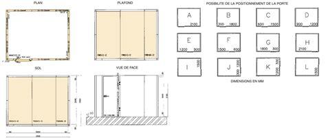 chambre de metier exemple d 39 un plan de montage d 39 une chambre froide
