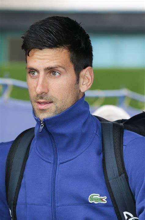 Novak je slavio uz velike bolove uspeo da slavi sa 3:2 u setovima. Novak Djokovic - Wikipedia