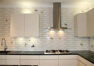 Large Subway Tile Backsplash - Design Decoration