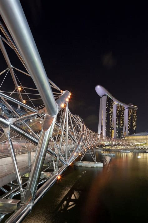 The Helix Bridge In Singapore By Cox Architecture