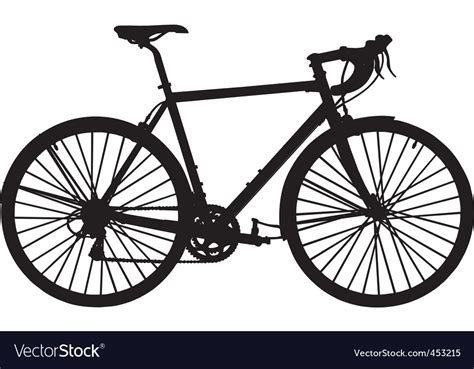 Touring Bicycle Royalty Free Vector Image