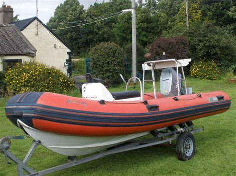 Rib Boat Dublin by Yamaha 480 Rib With Yamaha 75 Hp Outboard For Sale In