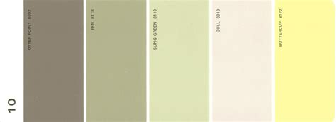martha stewart paint 5 color palette card 35 thelandofcolor