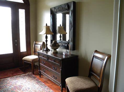 furniture entrance organized  captivating foyer