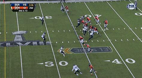 peyton manning intercepted   big lead