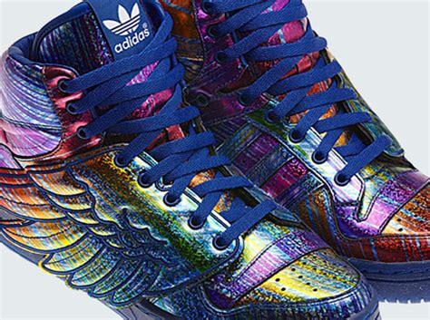 adidas run 1 quot rainbow hologram quot x adidas originals js
