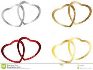 intertwined wedding rings wedding heart rings royalty free stock photo image 11273075