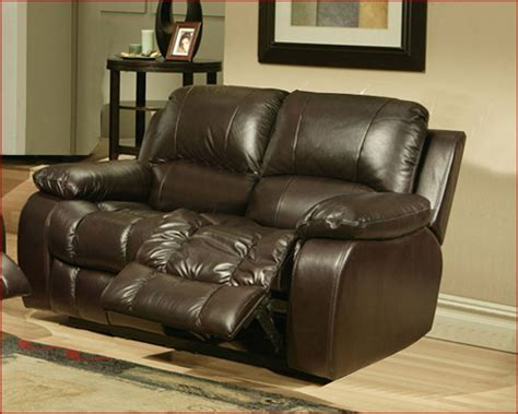 sonoma coffee leather glider recliner loveseat by