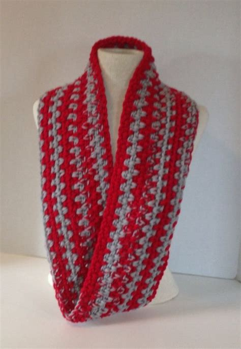 osu colors osu buckeye colors mobius infinity scarf in and
