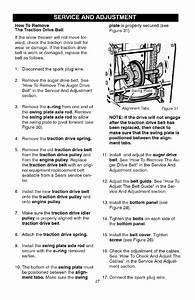 Craftsman 536881651 User Manual Snow Thrower Manuals And
