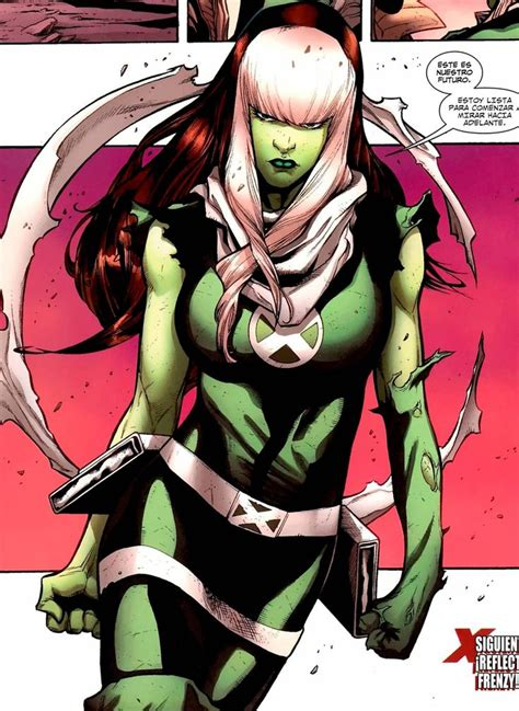 rogue marvel powers hulk ms she comics comic rogues lost ability female characters unlimited xmen rouge power gambit comicvine super