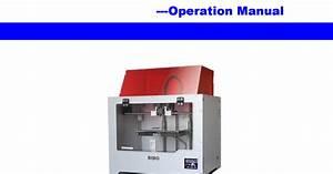 Bibo Touch New Board  3d Printer Operation Manual V2 0c22