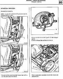 Manual De Reparacion Mr305 Twingo 1 Bateria  Faros  Instrumentos Del