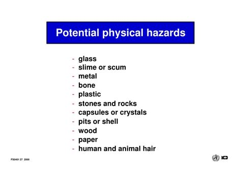 chemical  physical hazards  food powerpoint    id