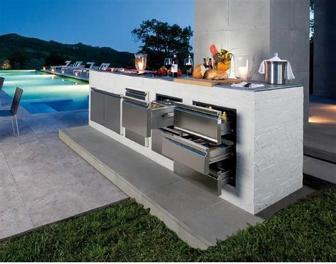 Modern Outdoor Barbecue Areas