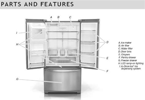 Whirlpool French Door Refrigerator Troubleshooting User