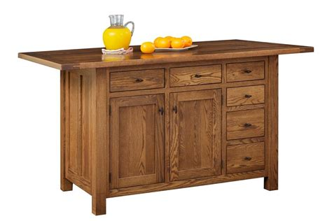 solid oak kitchen island solid oak wood kitchen island with closed storage 5601