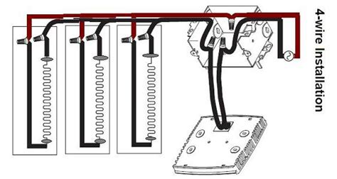 Wiring Baseboard Heaters Thermostat Electrical